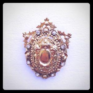 Florenza vintage 1950s brooch